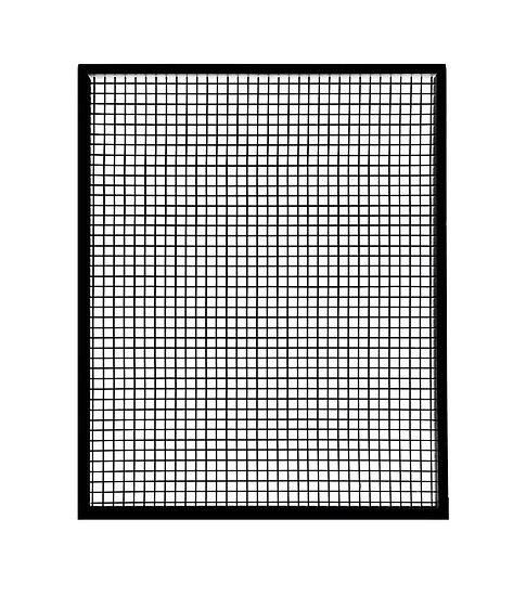 Black Mesh Screen w/ Black Frame