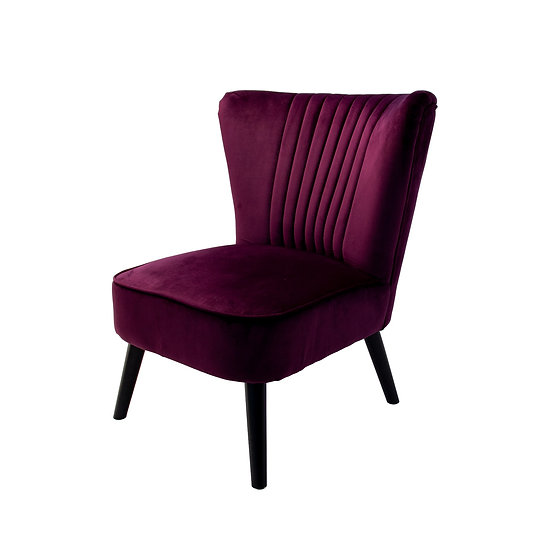 Chair Mauve Velvet