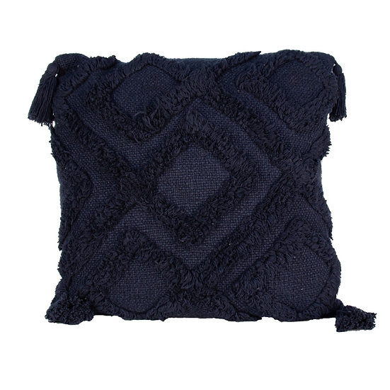 Cushion Navy Knit