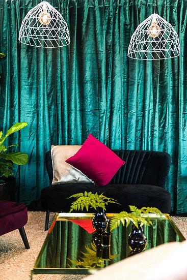 Emerald Curtain Velvet