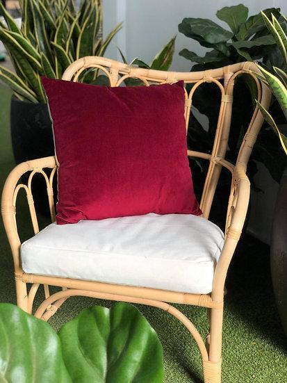 Cushion Red Velvet