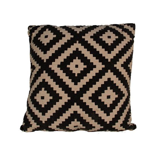 Cushion Black Geo