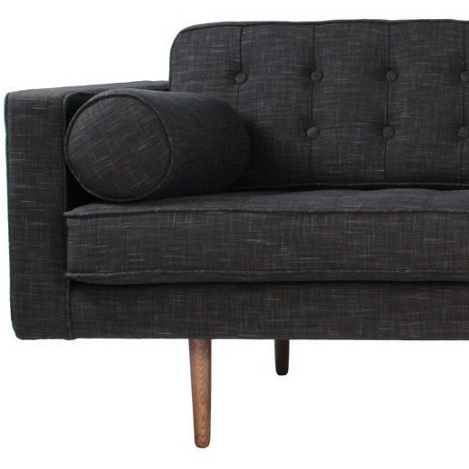 Lounge Charcoal 3 Seater