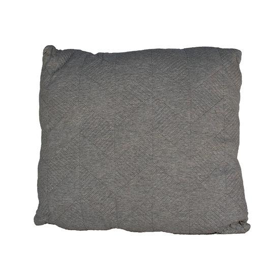 Cushion Grey Stitching