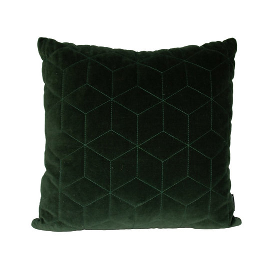 Cushion Green Quilted