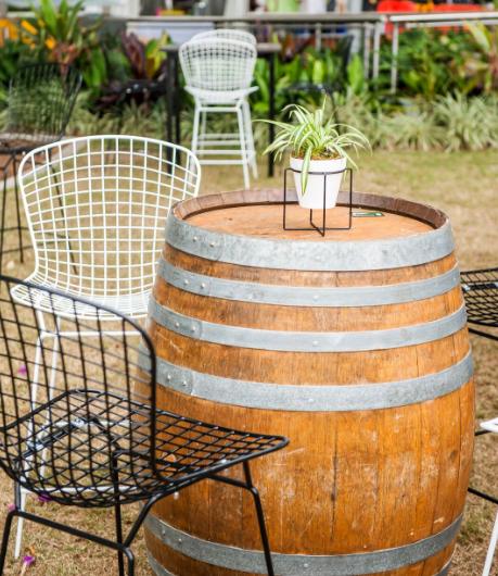 Dry Bar Wine Barrel