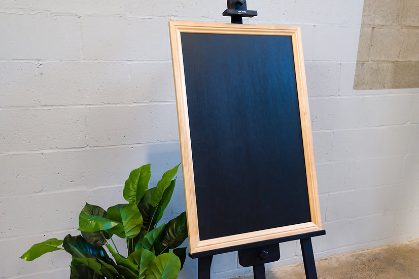 Blackboard w/ Timber Frame