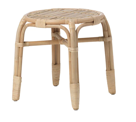 Coffee Table Natural Cane Small