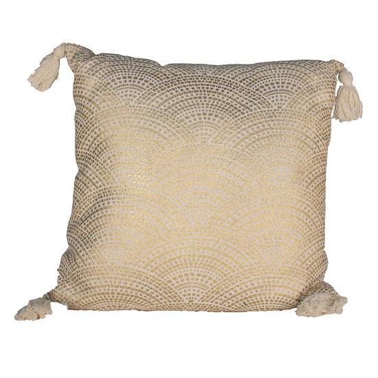 Cushion Gold Pattern