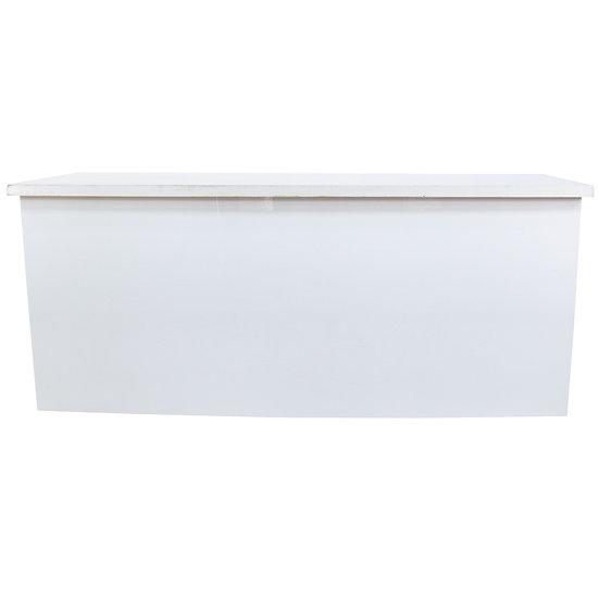 White Acrylic Bar