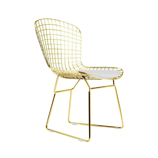 Chair Harry Bertoia Gold Wire