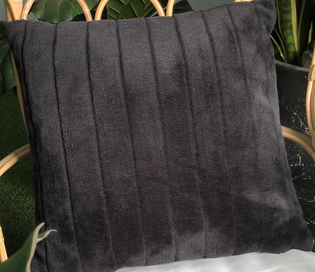 Cushion Black Velvet