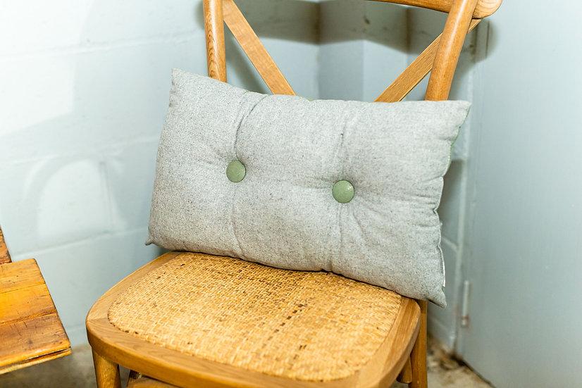 Cushion Grey Rectangle