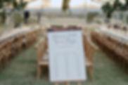 Wedding Styling, Outdoor Wedding, Brandition Wedding, Easel Hire, Oak Crossbacks