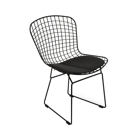 Chair Harry Bertoia Black Wire