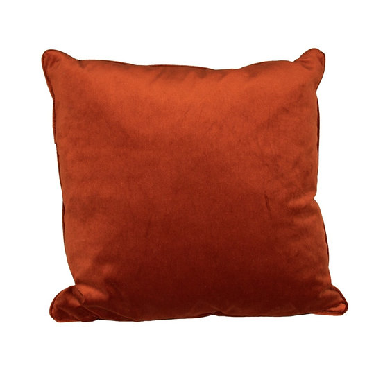 Cushion Rust Velvet