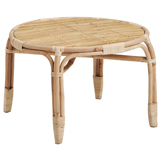 Coffee Table Natural Cane Large