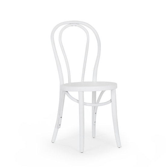 Chair White Bentwood