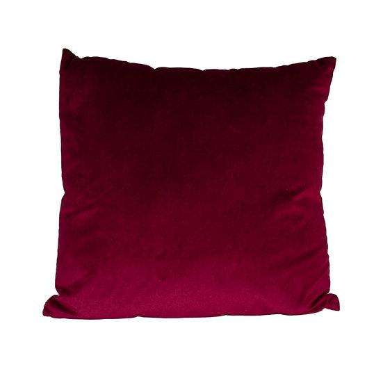 Cushion Burgundy Velvet