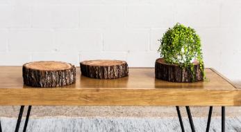 Timber Block Round