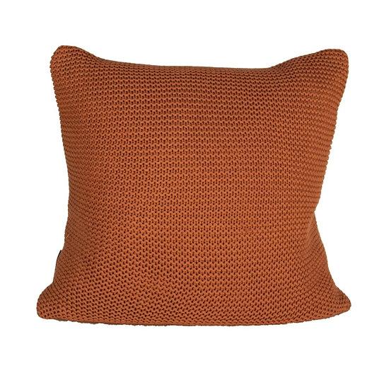 Cushion Rust Knit