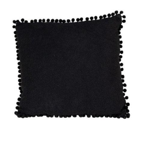 Cushion Black w/ Buttons