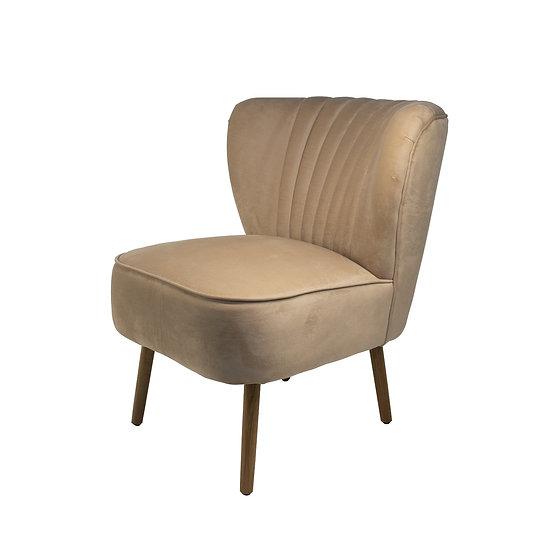 Chair Nude Velvet