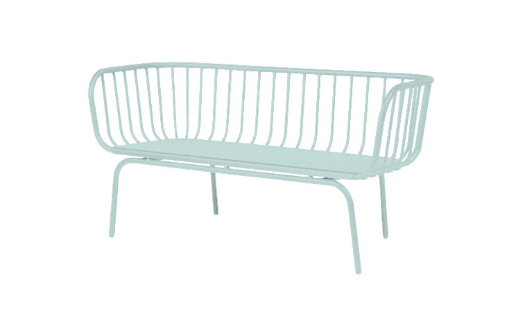 Lounge Outdoor 2 Seater Wire