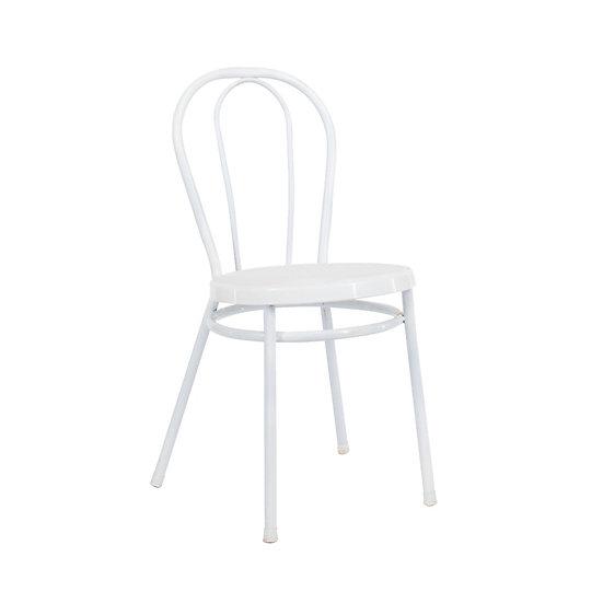 Chair White Bistro