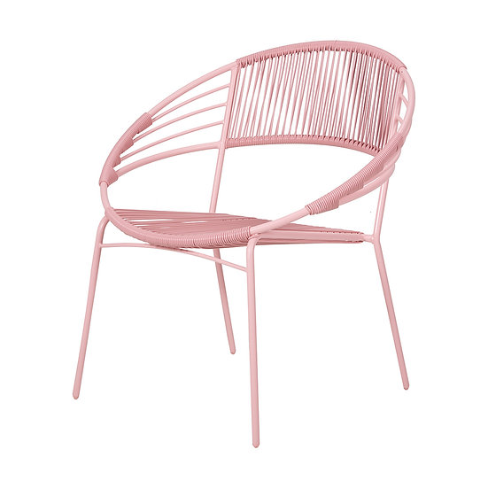 Chair Outdoor Pink