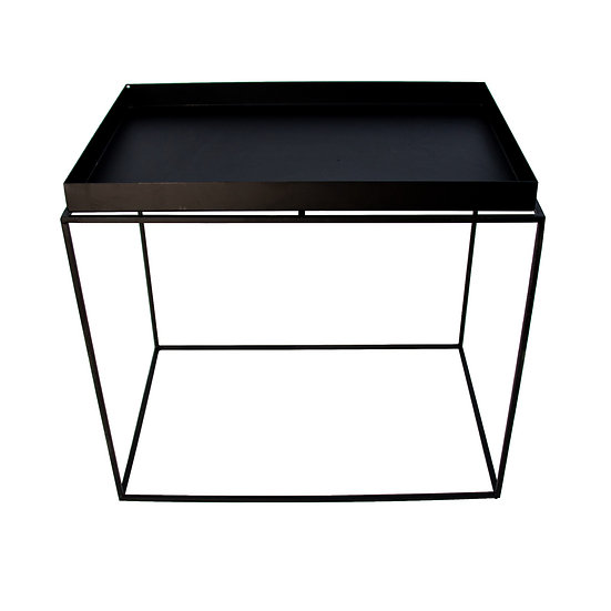 Coffee Table Black Wire Rectangle