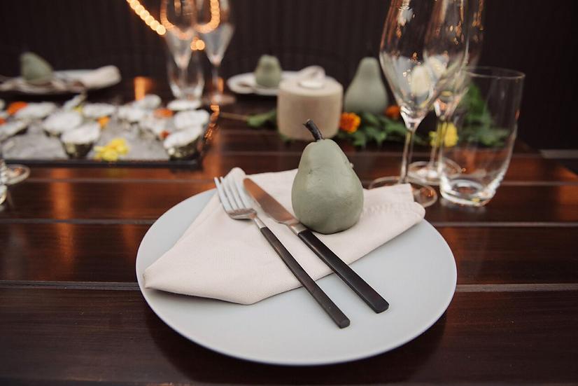 Plate Matt Blue Dinner
