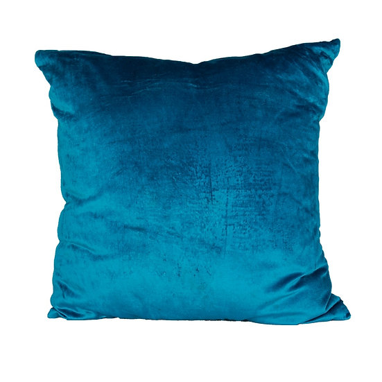 Cushion Teal Velvet Square