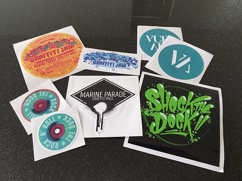 MPGW Sticker Pack