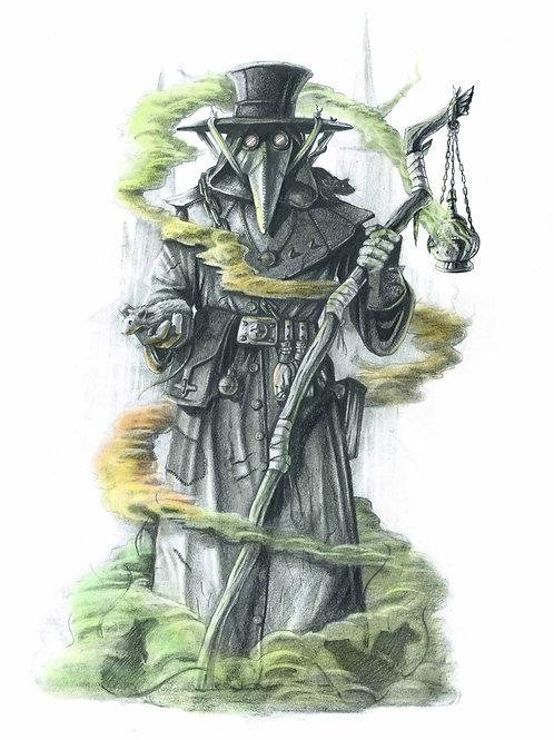 Edinburgh Plague Doctor