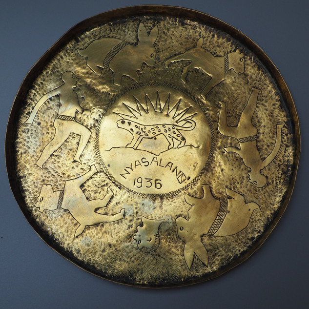 Nyasaland Brass Plate