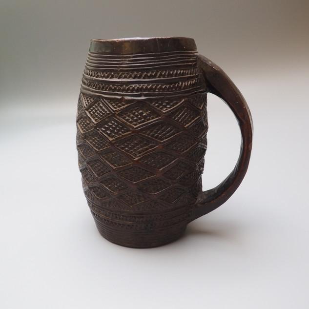 Congo Kuba palm wine cup