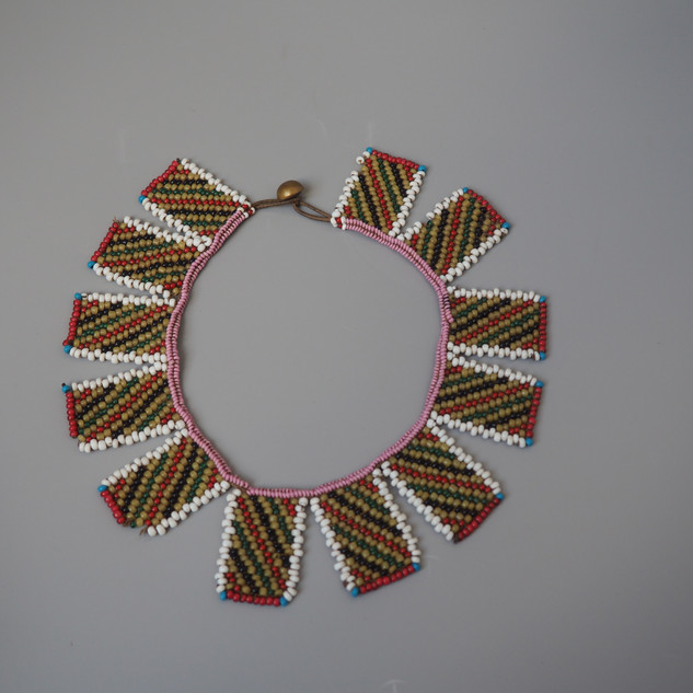 South African Zulu bead work necklace