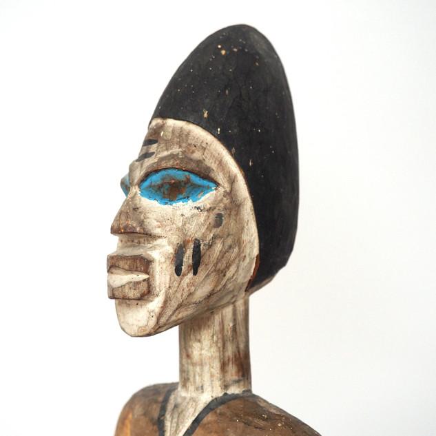 Nigerian Yoruba Equestrian Figure