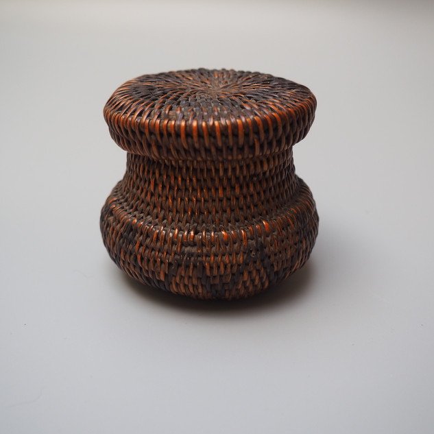 Southern Africa Lozi woven basket