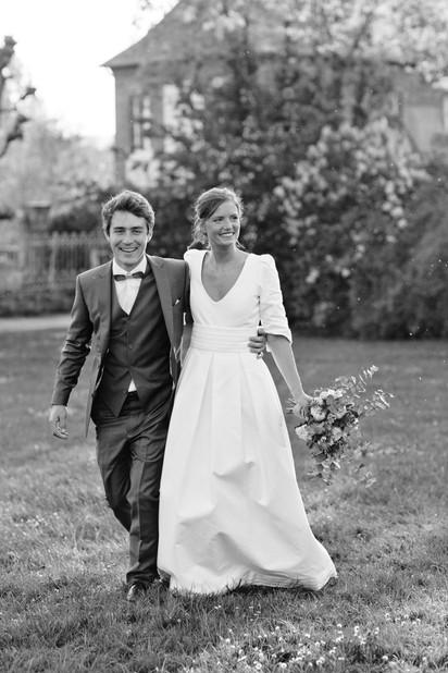 Mariage au Château de Mesnières, Normandie