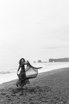 Editorial in Iceland with Pearl and Godiva