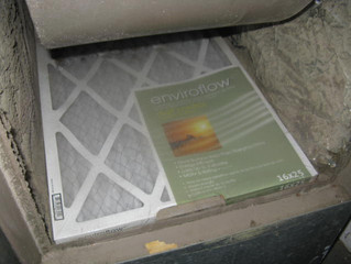 Changing the HVAC Filter