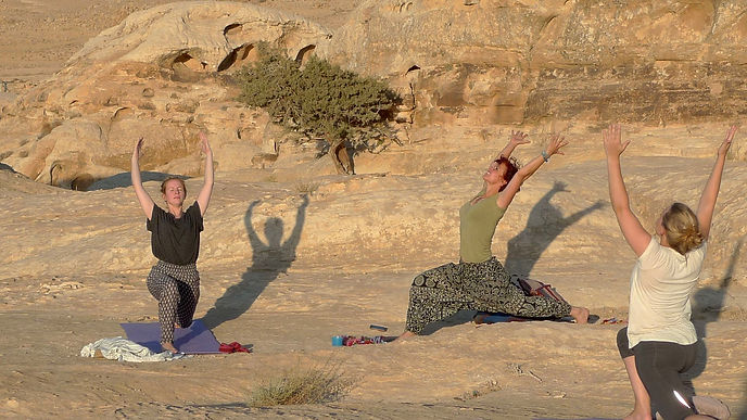Yoga retreat Jordan
