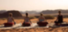 Meditation Wadi Rum, Yoga retreat Jordan