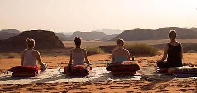 Meditation Wadi Rum, Yoga retreat Jordan