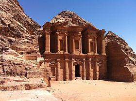 Monastery Petra, Jordan