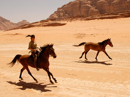 To Petra on Horseback
