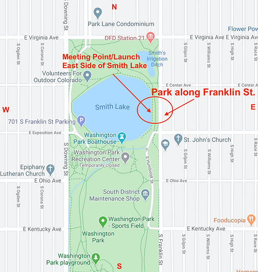 Smith Lake:Wash Park Location.png