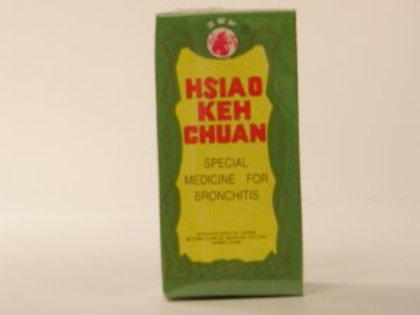 Hsiao Keh Chu Or Xiao Ke Chuan Sooth Herb Tea Extra : For Bronchitis